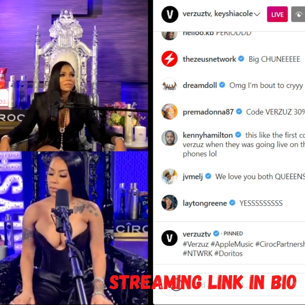 Watch Ashanti vs Keyshia Cole Verzuz Battle Live Stream
