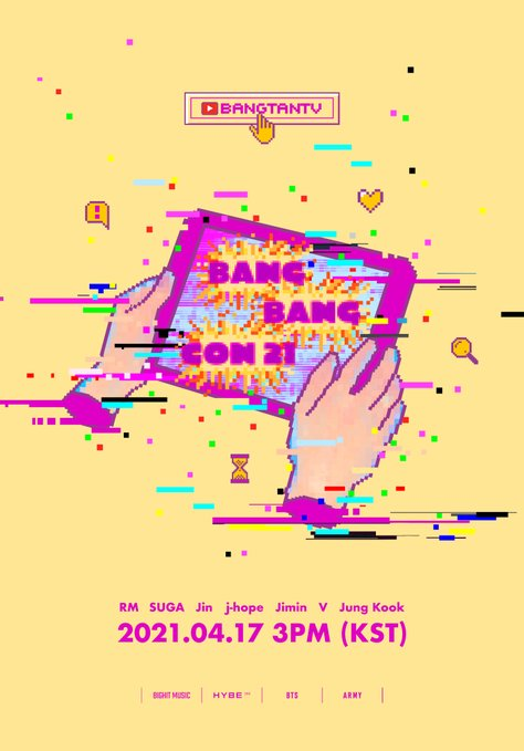 Watch BTS Bang Bang Con 2021 Live Stream