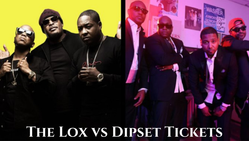 The Lox vs Dipset Tickets